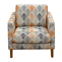 Diamond Sofa Home Furniture Keppel Patterned Fabric Accent ...