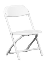 Flash Furniture Kids White Plastic Folding Chair | eBay