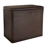 Lamont Home Laundry Storage Carter Bench Hamper | eBay