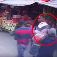 Veja vídeo: homem é executado a sangue frio com tiro na cabeça em feira livre