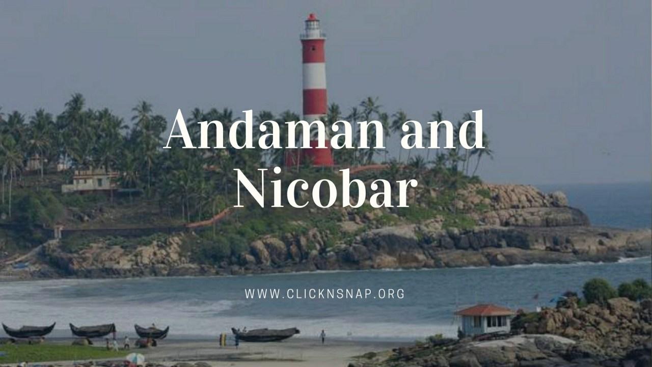 Andaman and Nicobar, Summer Holiday, India