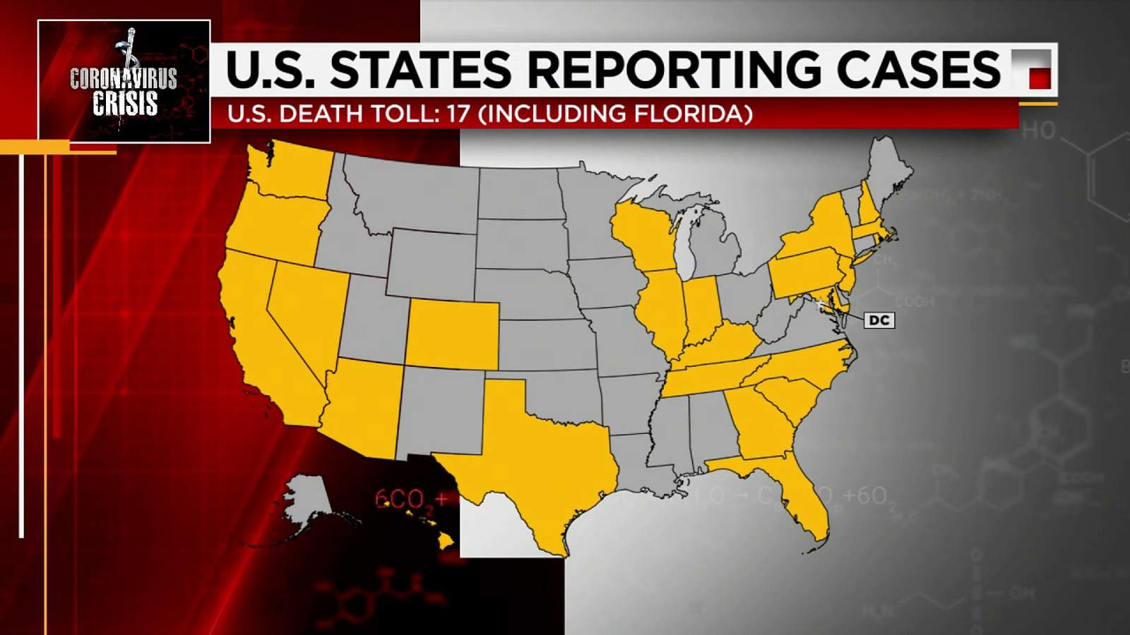 Florida: 2 dead in the state who tested positive for virus