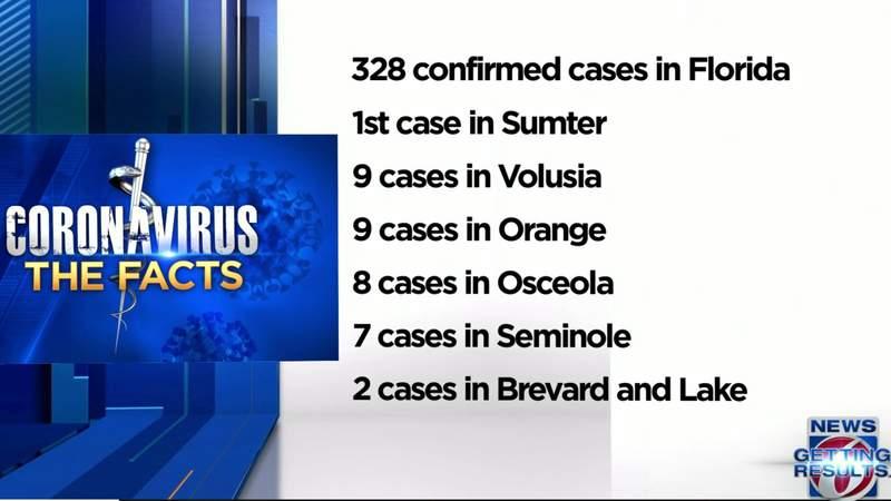Interactive map shows Florida coronavirus cases
