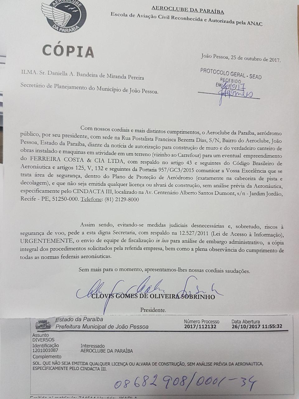 6e3f9e69 ab27 4880 93c3 004324c37d7b - Prefeitura da Capital embarga construção ilegal na estrada de Cabedelo