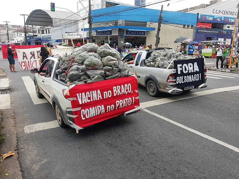image_processing20210529-1578-zgdg0a Manifestantes fazem ato pelo impeachment do presidente Jair Bolsonaro na Paraíba