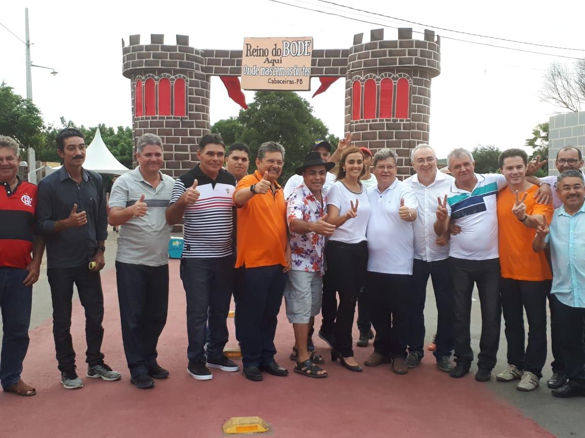 joao azevedo   festa do bode rei em cabaceiras 1 - João Azevêdo marca presença na 20ª Edição da Festa do Bode Rei
