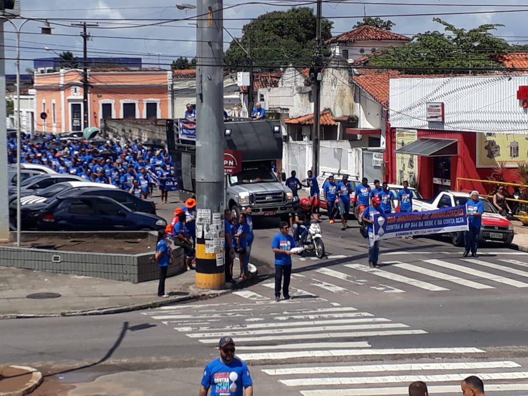 whatsapp image 2018 08 30 at 100238 am - Funcionários da Cagepa protestam contra privatização da empresa