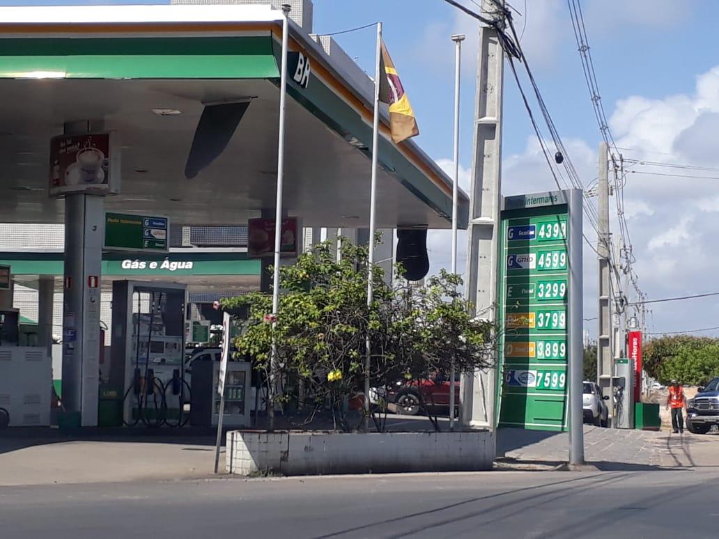 preco   gasolina 1   clickpb - Preço da gasolina chega a R$ 4,39 em postos paraibanos e variação deixa Procon em alerta