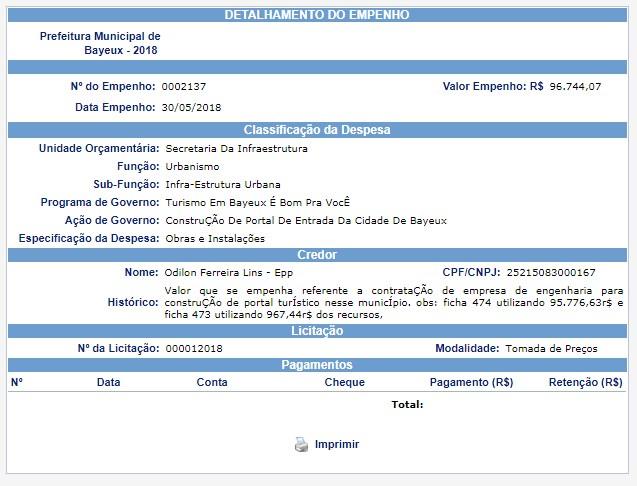 portaldebayeuxempenho - Obra inacabada de 'Portal de Boas-Vindas' revela desperdício de dinheiro público em Bayeux