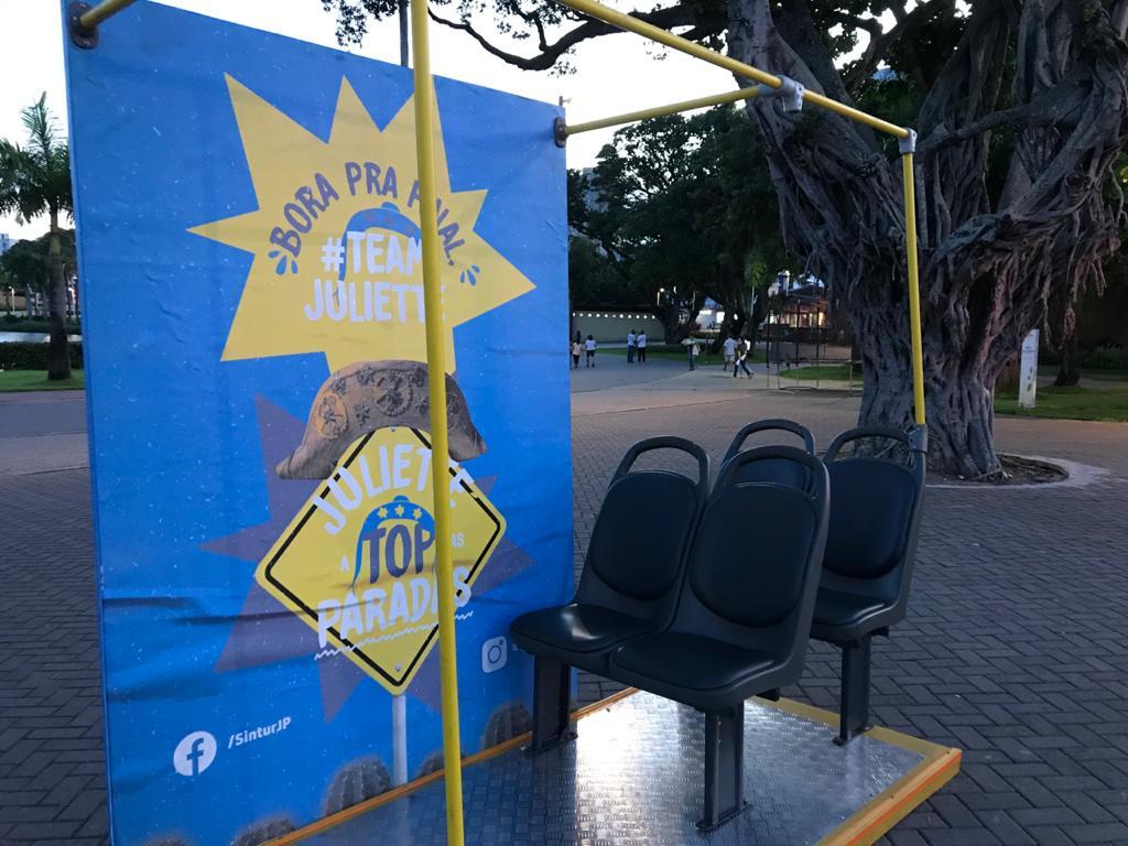 73894b21-7b93-40af-a64c-04ca34fa93f0 Juliette Top das Paradas: paraibana é homenageada em transportes coletivos de João Pessoa