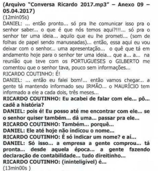 ricardo coutinho 3 - CALVÁRIO: Em áudio, Ricardo Coutinho afirma que Aguinaldo Ribeiro é uma pessoa inconfiável; OUÇA