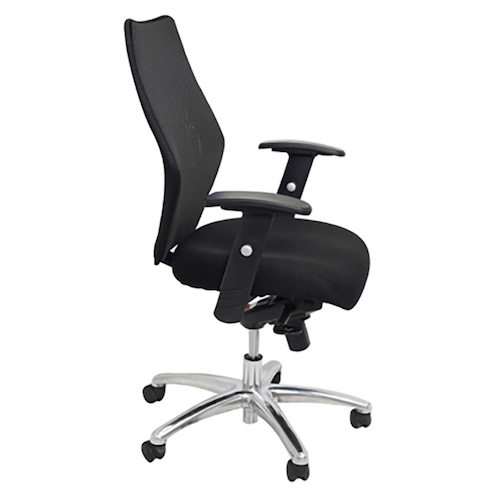 ergonomic chair brisbane folding junior semi office chairs clicks ascot high back typist