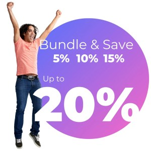 Bundle & Save up to 20% when you purchase multiple products with Clickstarter