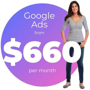 Google Ads from $660 per month