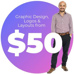 Graphic Design from $50