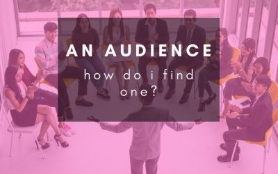 How do I find an audience online for my content?