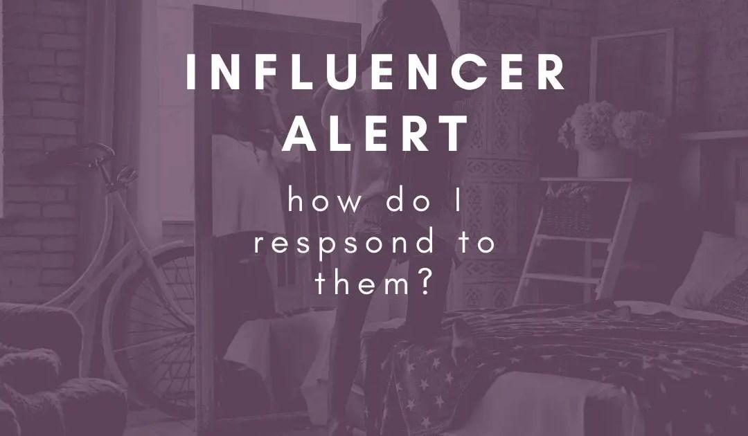 How do I respond to influencer collaboration requests?