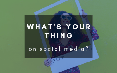Find what your theme on social media is