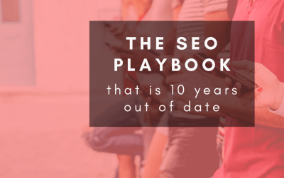 The out-of date recommendations you're getting from your SEO expert