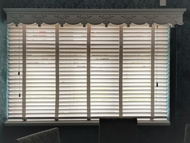curtain box valance pelmet window door cornice cover victorian 3 feet 36 inches 914cm x18x18cm easy fit