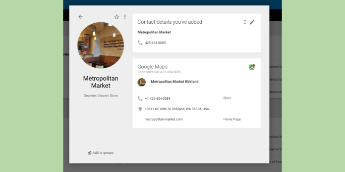 google-contacts-maps