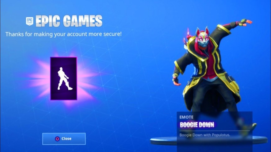 Add Two-Factor Authentication to Epic Games Account For ...