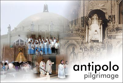 Antipolo, pilgrim, church in antipolo