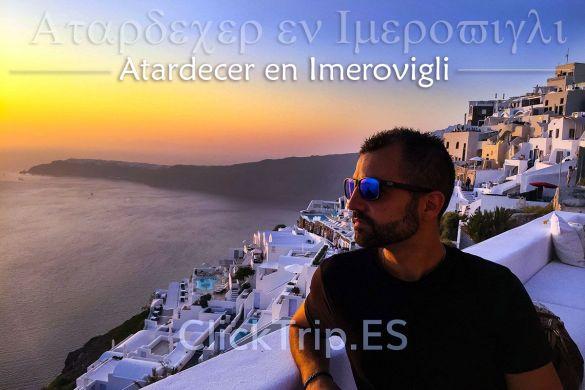 Imerovigli-Atardecer-Mejores-Playas-Santorini-Islas-Griegas-ClickTrip