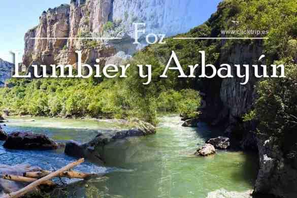 Ruta Como llegar Foz Lumbier Arbayun Turismo Navarra_ClickTrip