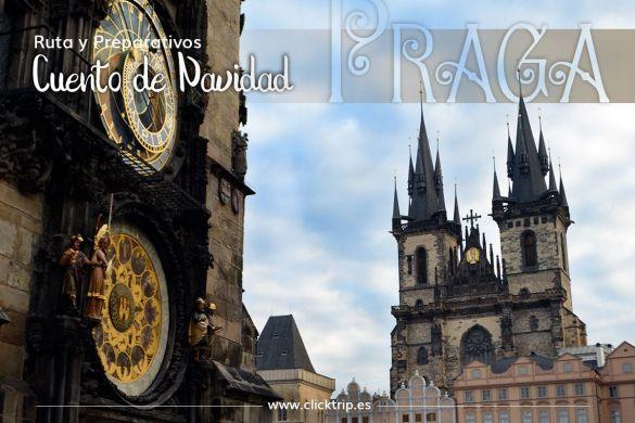 Qué ver visitar y hacer Ruta Preparativos Praga Navidad ClickTrip