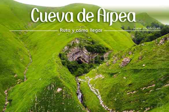 Cueva_Arpea_Ruta_como_llegar_visitar_pirineo_navarra_selva_irati_recorrido_clicktrip