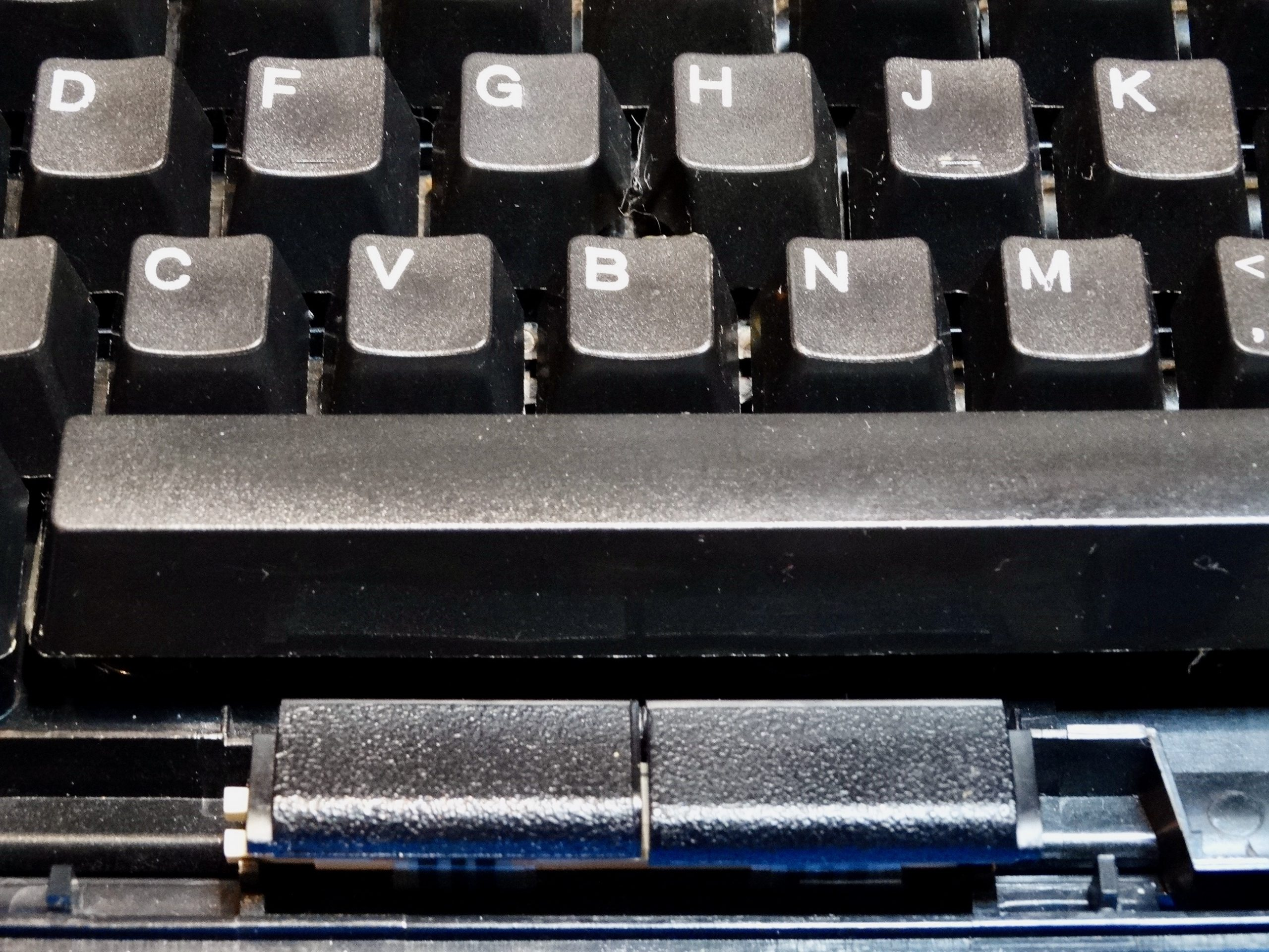 86H1067 Ibm 133 Key Keyboard Usb Matrix Storm Gray