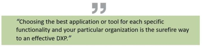 Information: A modular strategy to digital expertise platforms 2