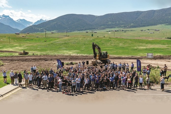PFL HQ Groundbreaking Group June