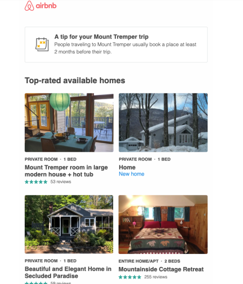 Airbnb - Browse Abandonment