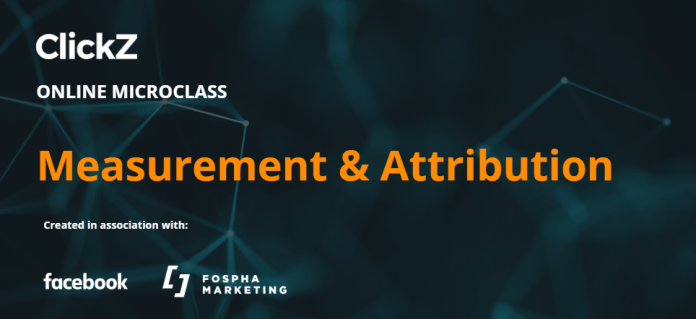 free online course on measurement and attribution for marketers, sponsored by facebook and fospha
