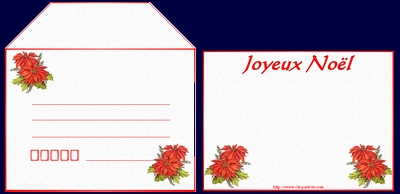 Cartes Et Enveloppes à Imprimer Noel Fete Des Meres Fleurs