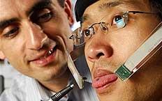 Imã de 3 mm preso à língua envia informações para sensores de movimento - AP