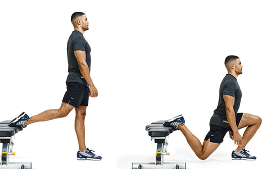 Single-leg routines to do from home