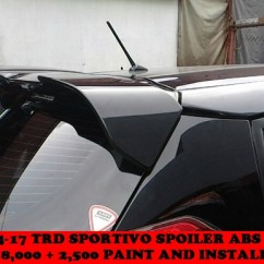 Toyota Yaris Trd Spoiler Harga All New Kijang Innova Venturer Welcome Clifford Paint And Bodykits Previousnext
