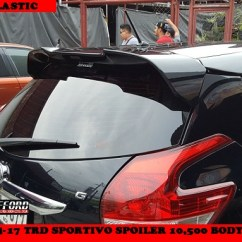 Toyota Yaris Trd Spoiler New Corolla Altis Vs Honda Civic Welcome Clifford Paint And Bodykits Previousnext