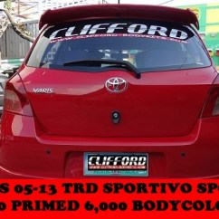 Toyota Yaris Trd Spoiler All New Camry Specs Welcome Clifford Paint And Bodykits Previousnext