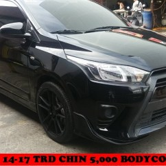 Bodykit All New Yaris Trd Roof Rail Grand Avanza Welcome Clifford Paint And Bodykits