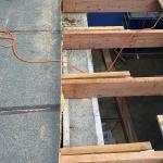 rekonstrukce střechy garaže