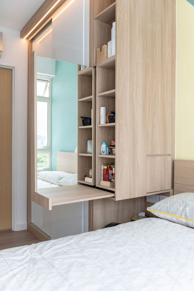 bedroom storage for small rooms