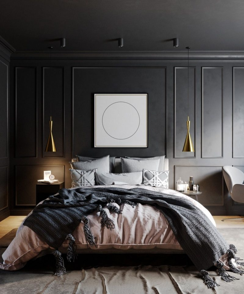 black bedrooms furniture