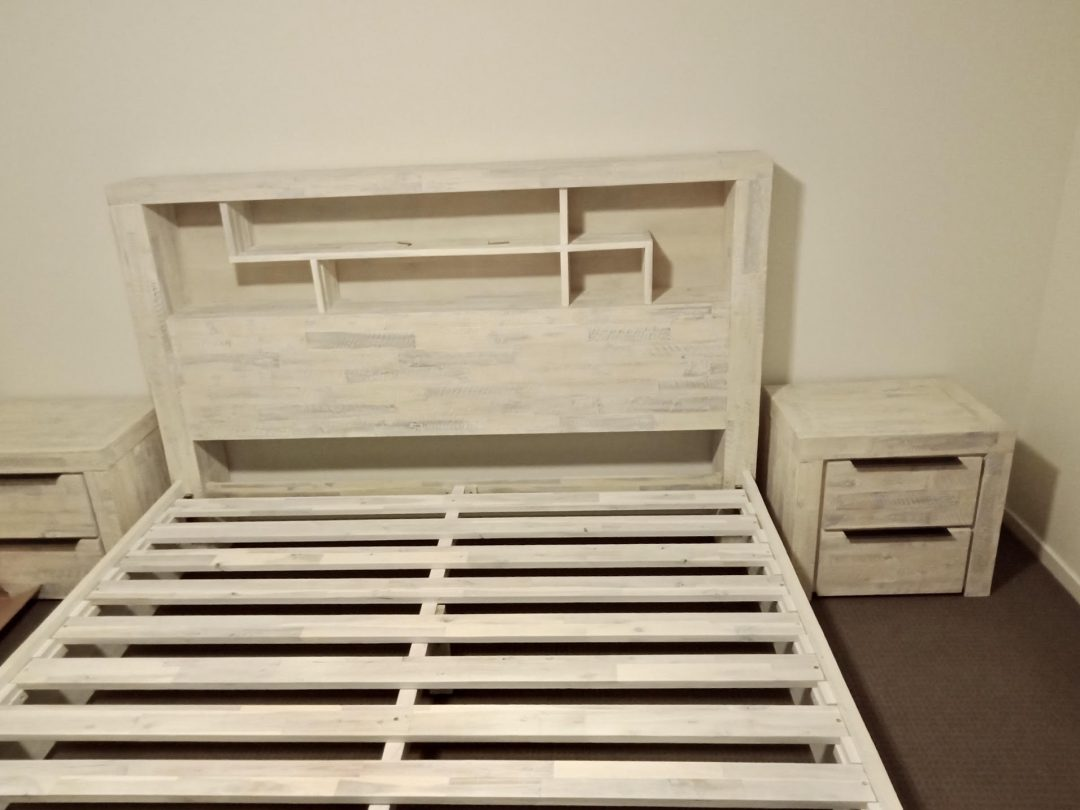bookcase queen bed frame with storage