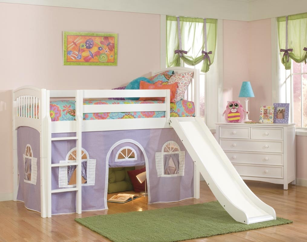 bunk beds for toddlers with stairs and slide
