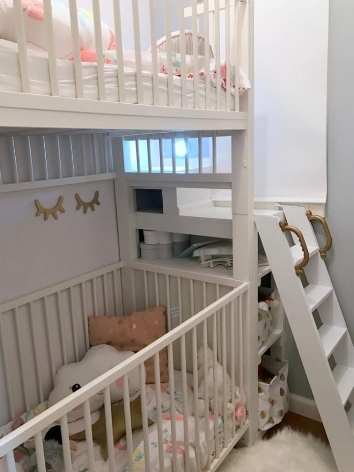 crib bunk bed
