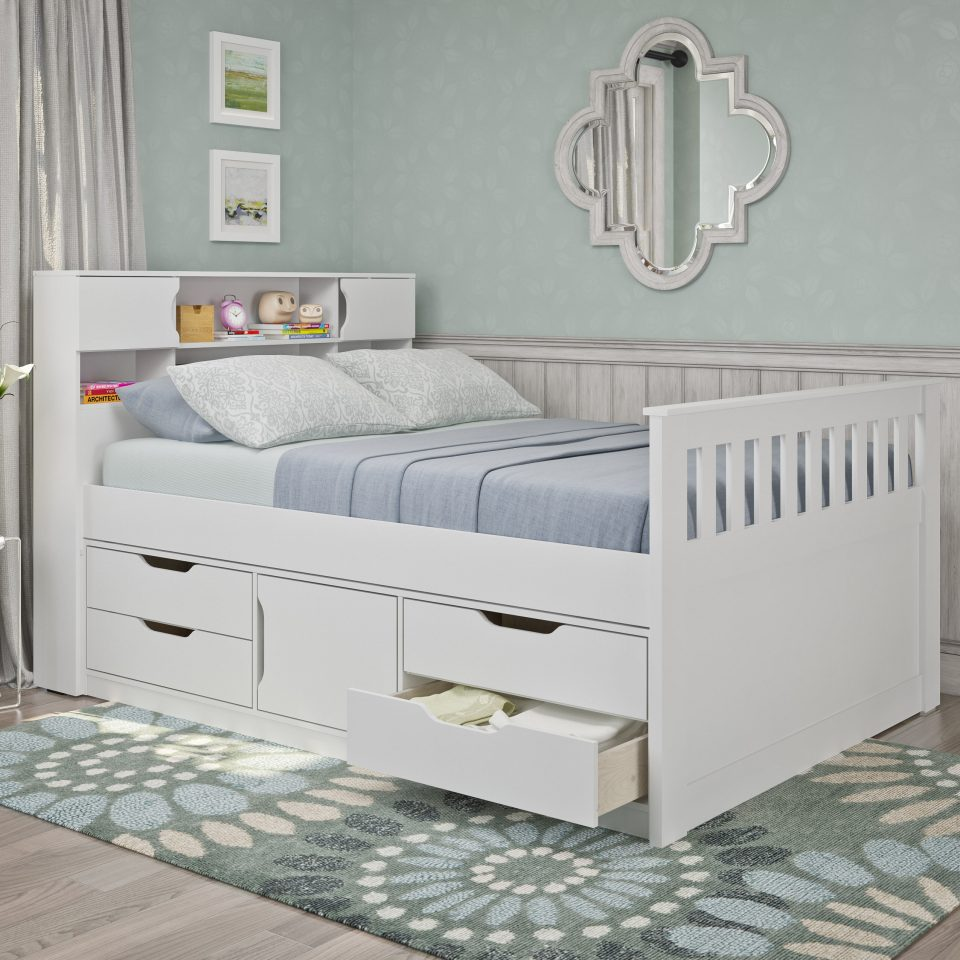 fulldouble storage bed